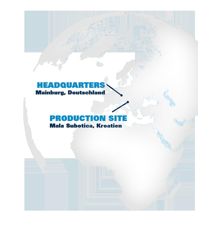 Location of HAIX sites