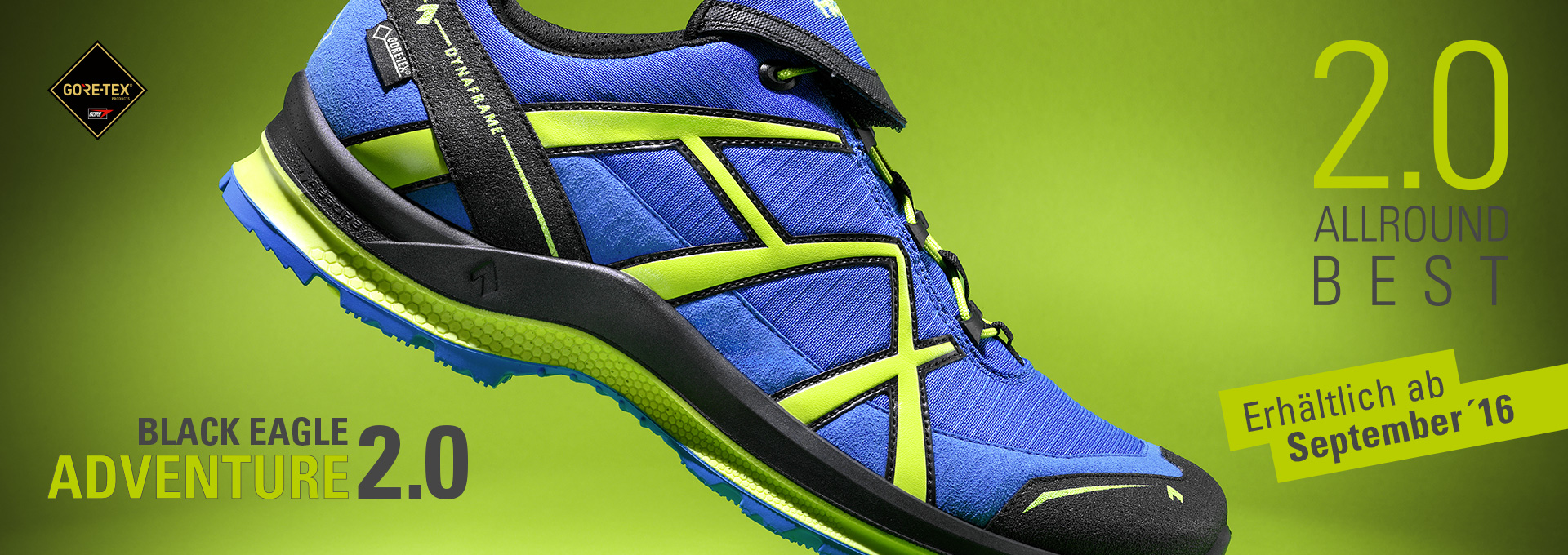 HAIX® bringt Outdoor-Schuh mit neuer Sohlentechnologie auf den Markt