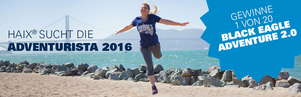 HAIX sucht die Adventurista 2016