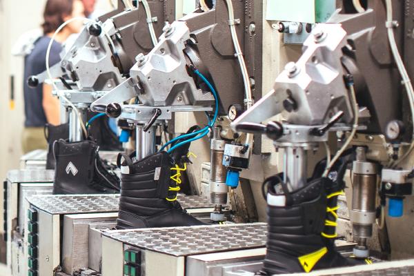 HAIX Schuhproduktion