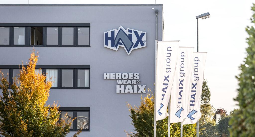 HAIX Verwaltungssitz in Mainburg