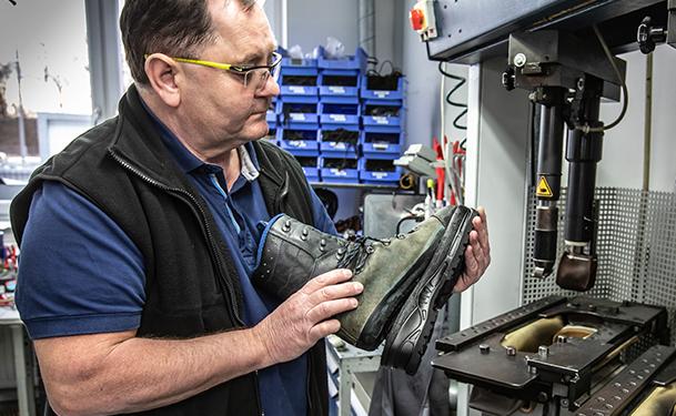 HAIX Reparatur-Service